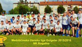 Rezultati zadnjega 18. kroga MČL GolgeterRogaška novi tretjeligaš