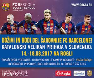 Doživi in bodi del čarovnije FC Barcelone!